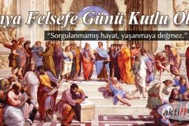21 Kasım Dünya Felsefe Günü Kutlamaları